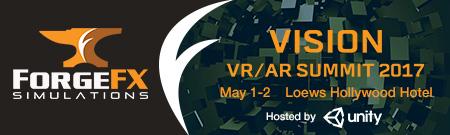 Vision VR/AR Summit 2017 ForgeFX Simulations