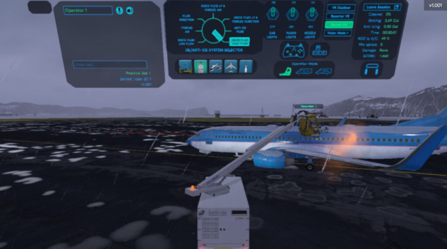 ForgeFX Simulations De-Icing Simulator for Global Ground Support