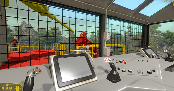 Drilling Rig Operator Training Simulator