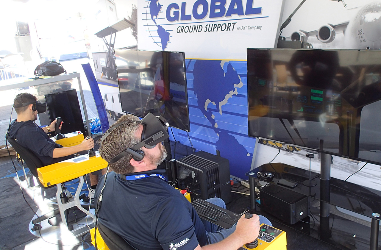 Global Ground Support VR Deicing Simulator by ForgeFX Simulations