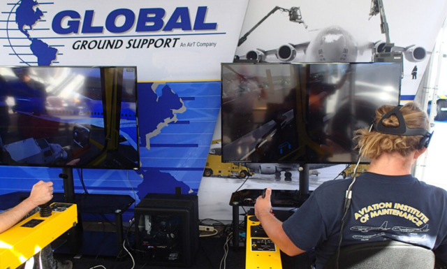 Global Ground Support Virtual Reality Training Simulator by ForgeFX Simulations