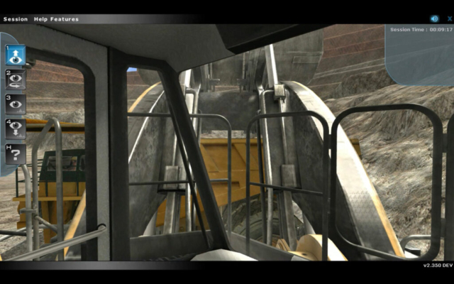Heavy Equipment Training Simulator by ForgeFX Simulations