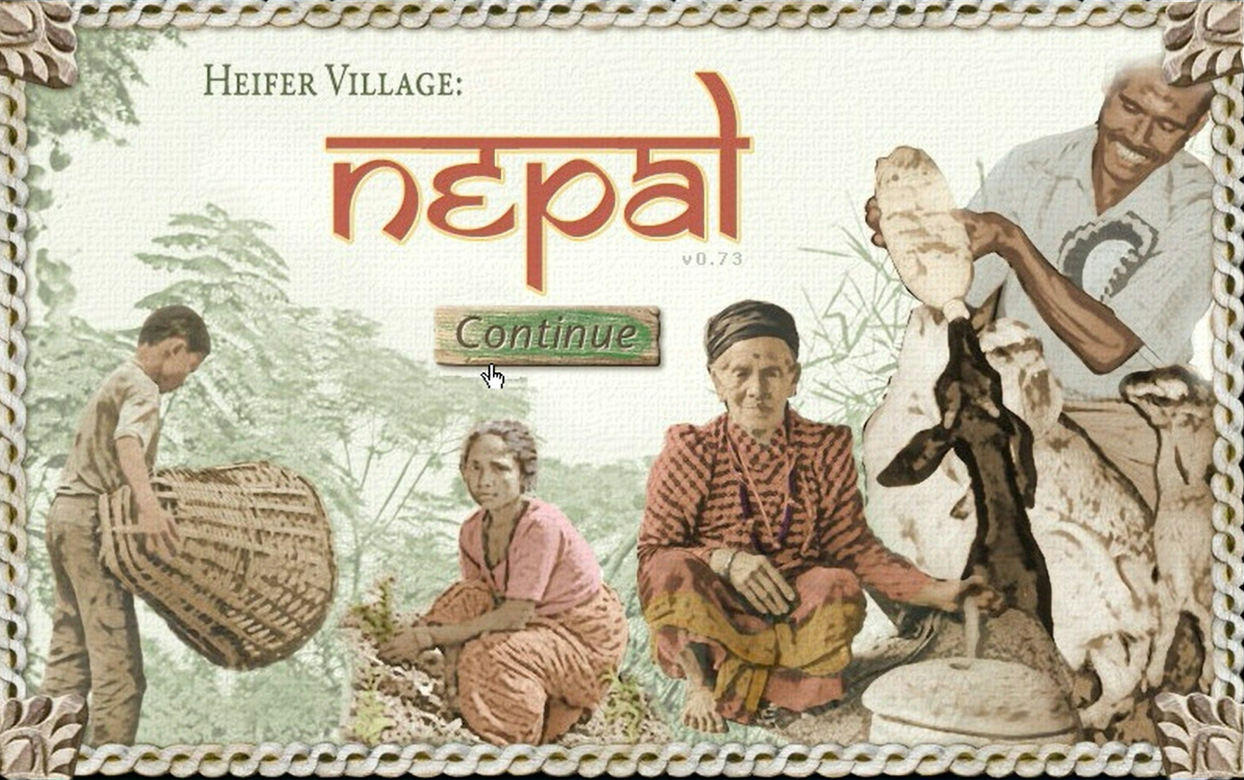 Heifer Village: Nepal, Virtual Heifer Village