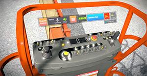 JLG 1850SJ Ultra Boom Lift Training Simulator