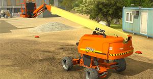 JLG Industries, Self-Leveling Boom Lift Training Simulator