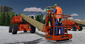 JLG 800S Boom Lift Training Simulator