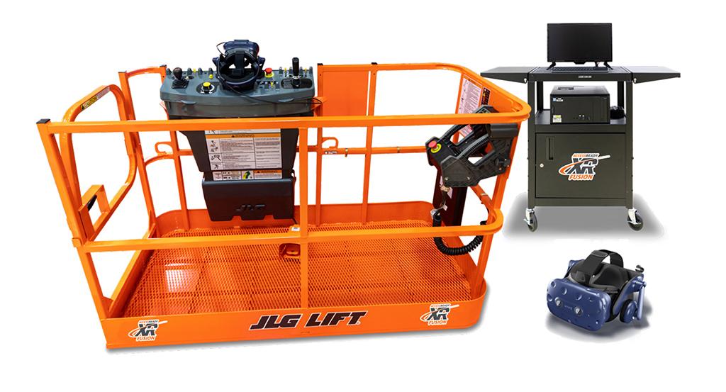 JLG AccessReady Fusion XR™ by ForgeFX Simulations