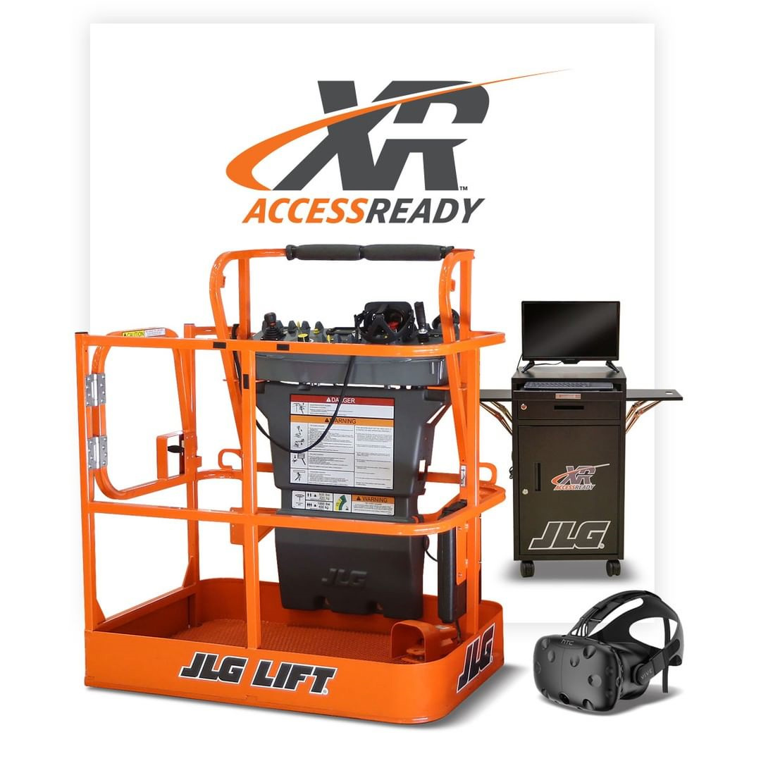 JLG Industries AccessReady XR Virtual Reality Training Simulator