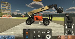 JLG G10 Telehandler Training Simulator