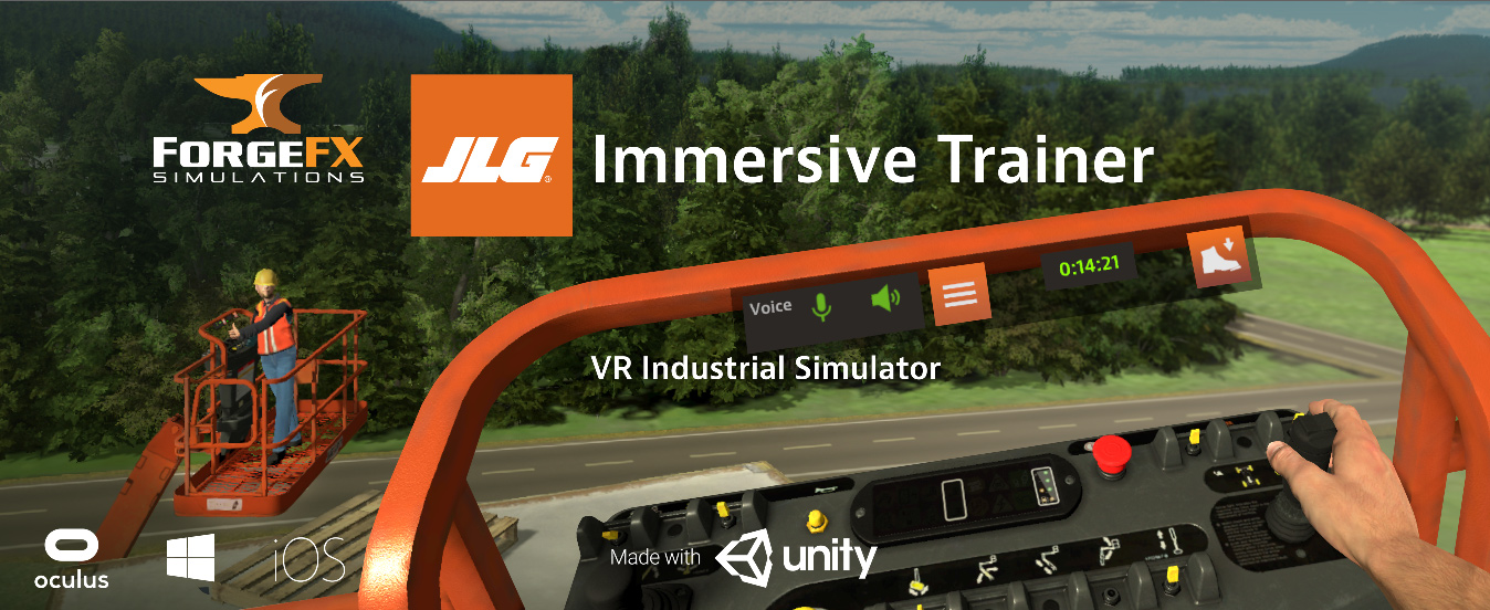 JLG Immersive Trainer by ForgeFX at Unity Vision Summit