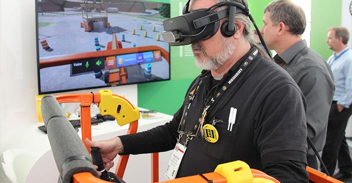 JLG Immersive Training Simulator