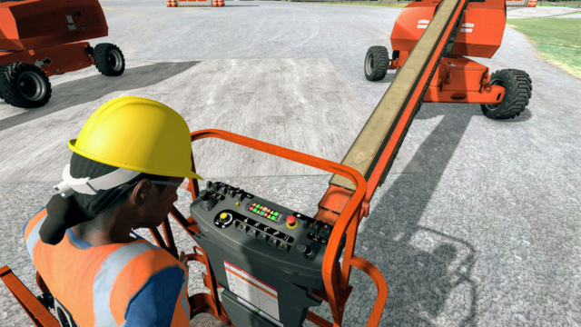 JLG Immersive Training Simulator Task-Based Scenarios