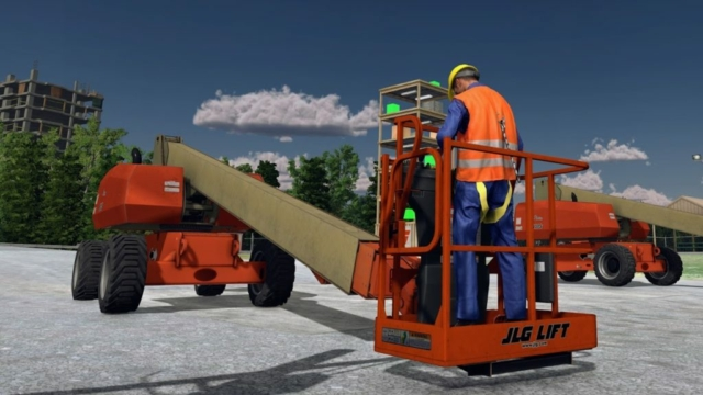 JLG Industries Virtual Equipment Training Simulator