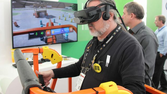 JLG Immersive Aerial Work Platform Training Simulator Developed by ForgeFX Simulations