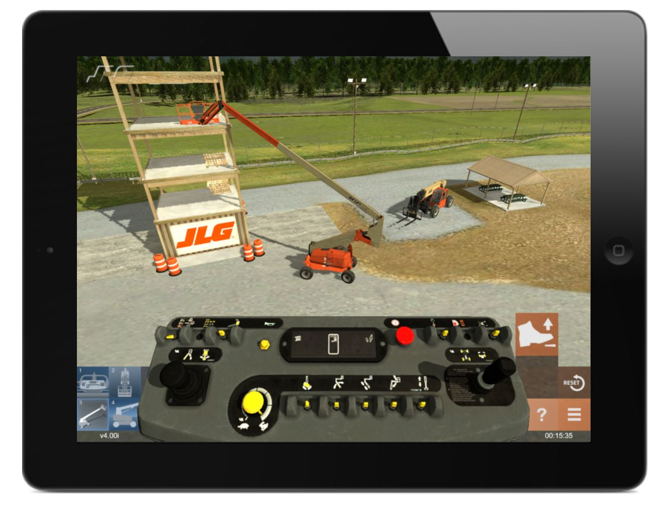 JLG Mobile Equipment Simulator by ForgeFX Simulations