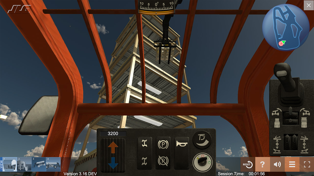 JLG Industries Telehandler Training Simulator