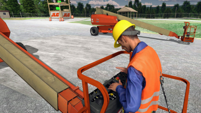 JLG Industries, AccessReady XR, Virtual Reality Training Simulator by ForgeFX Simulations
