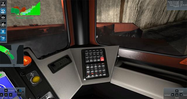 Joy 18HD Virtual Training Simualtor