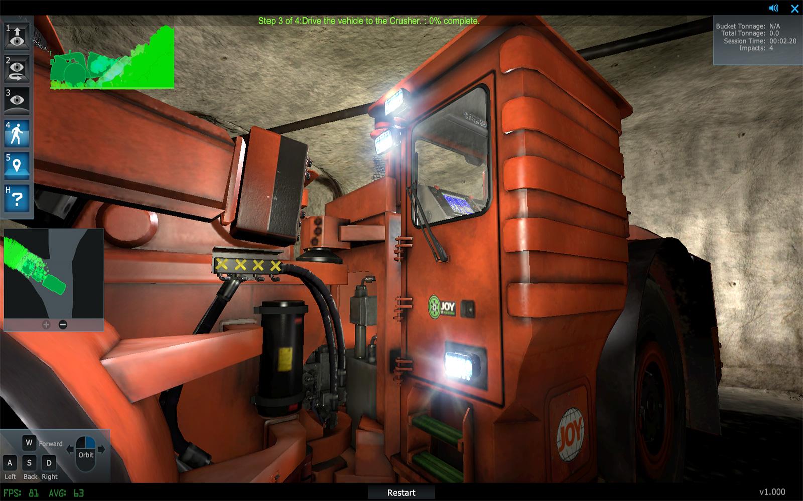 Joy Mining Machinery Equipment Training Simulator