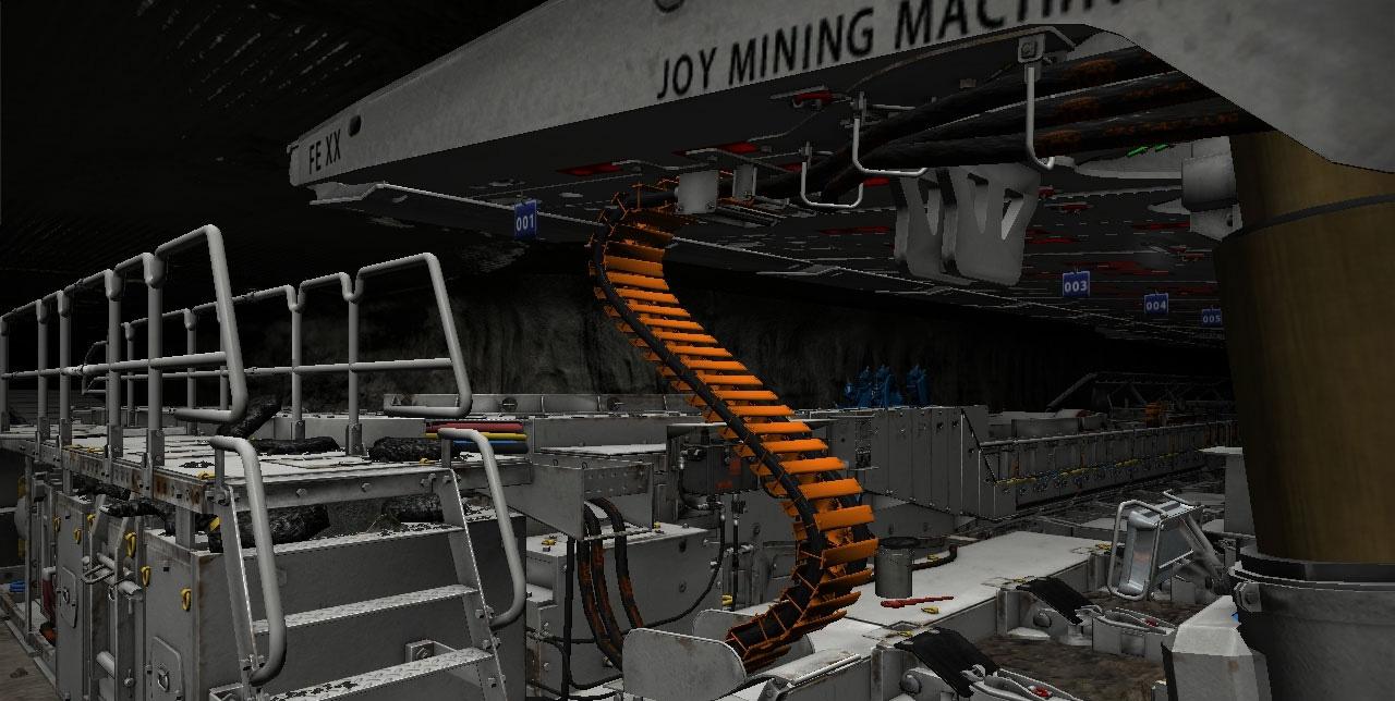Komatsu Joy Mining Machinery Longwall Virtual Training Simulator
