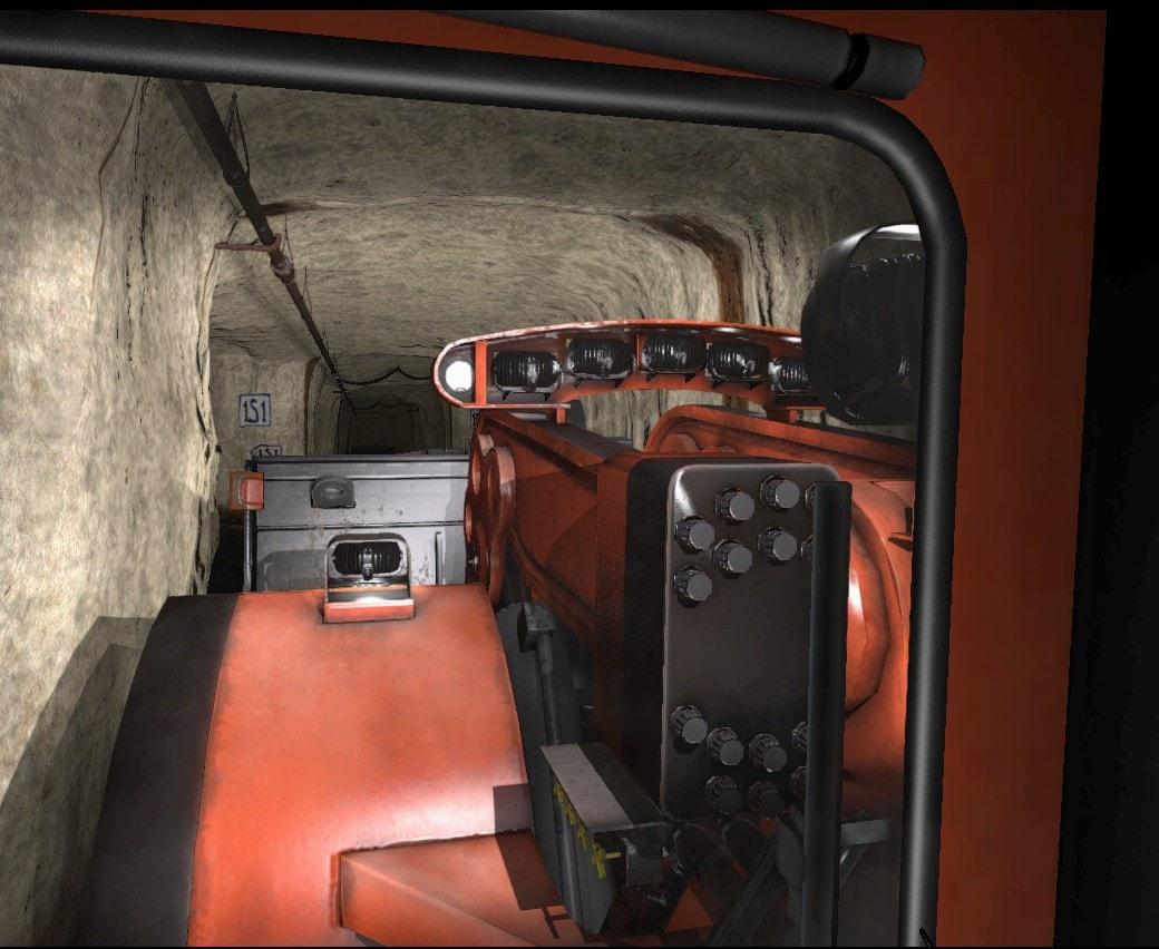 Komatsu 18HD Simulator by ForgeFX Simulations