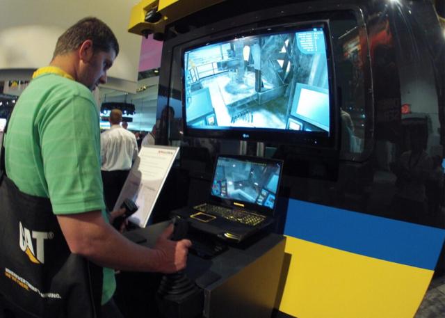 Komatsu 320XPC Drill Operator Training Simulator