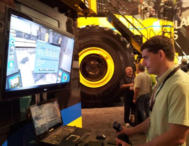 Komatsu Blasthole Drill Operator Training Simulator