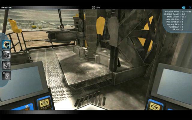 Komatsu Blasthole Drill Training Simulator