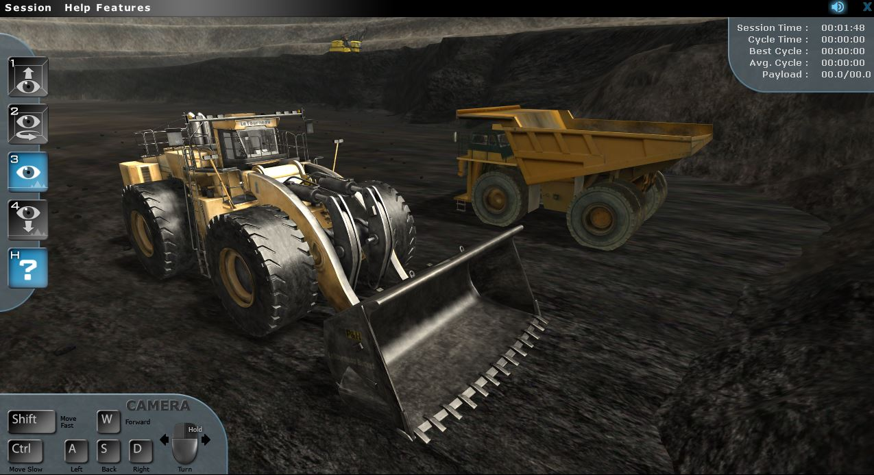 Komatsu Wheel Loader Simulator by ForgeFX Simulations