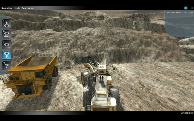 Komatsu Frontend Loader Training Simulator by ForgeFX