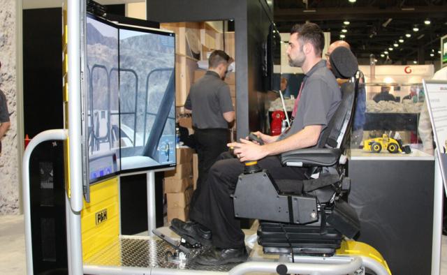 Komatsu L2350 Loader Operator Training Simulator by ForgeFX Simulations