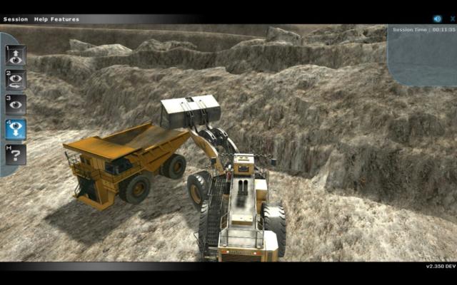 Komatsu L2350 Simulation-Based Training by ForgeFX Simulations