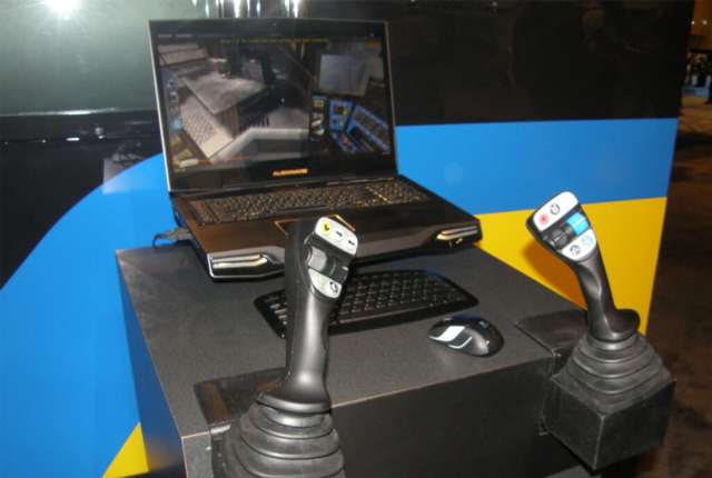 Komatsu Laptop Based Drill Operator Training Simulator by ForgeFX Simulations