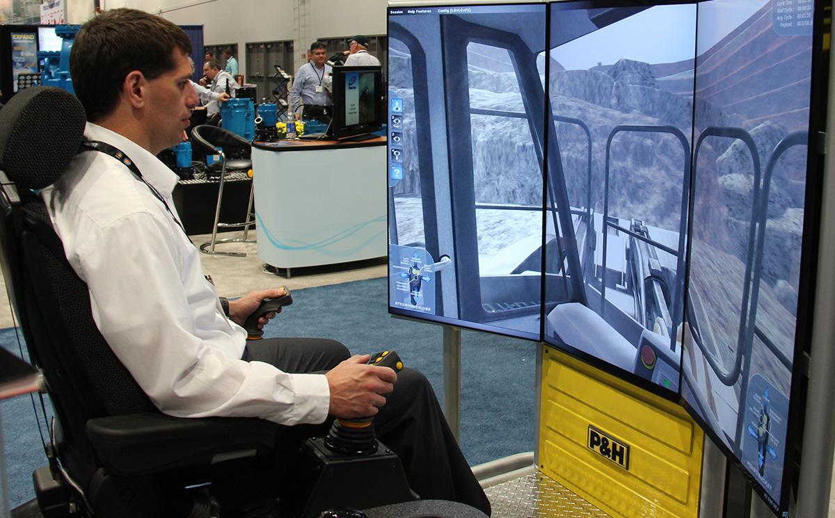Komatsu L2350 Loader Operator Training Simulator