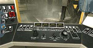 Komatsu Mining 320XPC Blasthole Drill Training Simulator