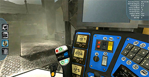 Komatsu Mining Corporation Blasthole Drill Training Simulator