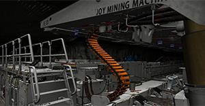 Komatsu Mining Underground Longwall System Training Simulator