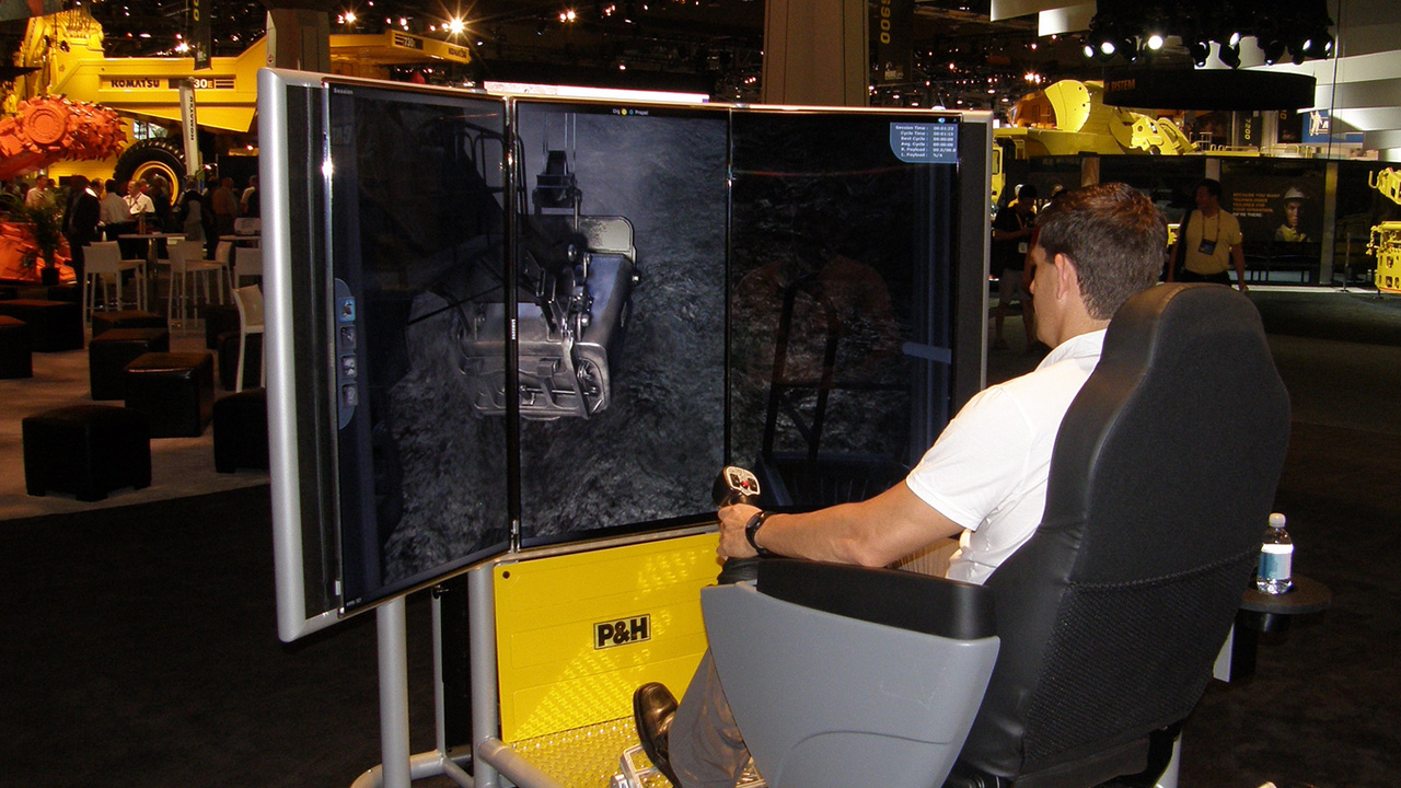 Komatsu Mining Shovel Simulator