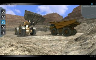 Komatsu L2350 Loader Operator Training Simulator Developed by ForgeFX Simulations