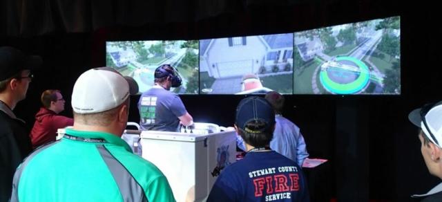 Pierce Manufacturing Virtual Reality Simulator by ForgeFX Simulations