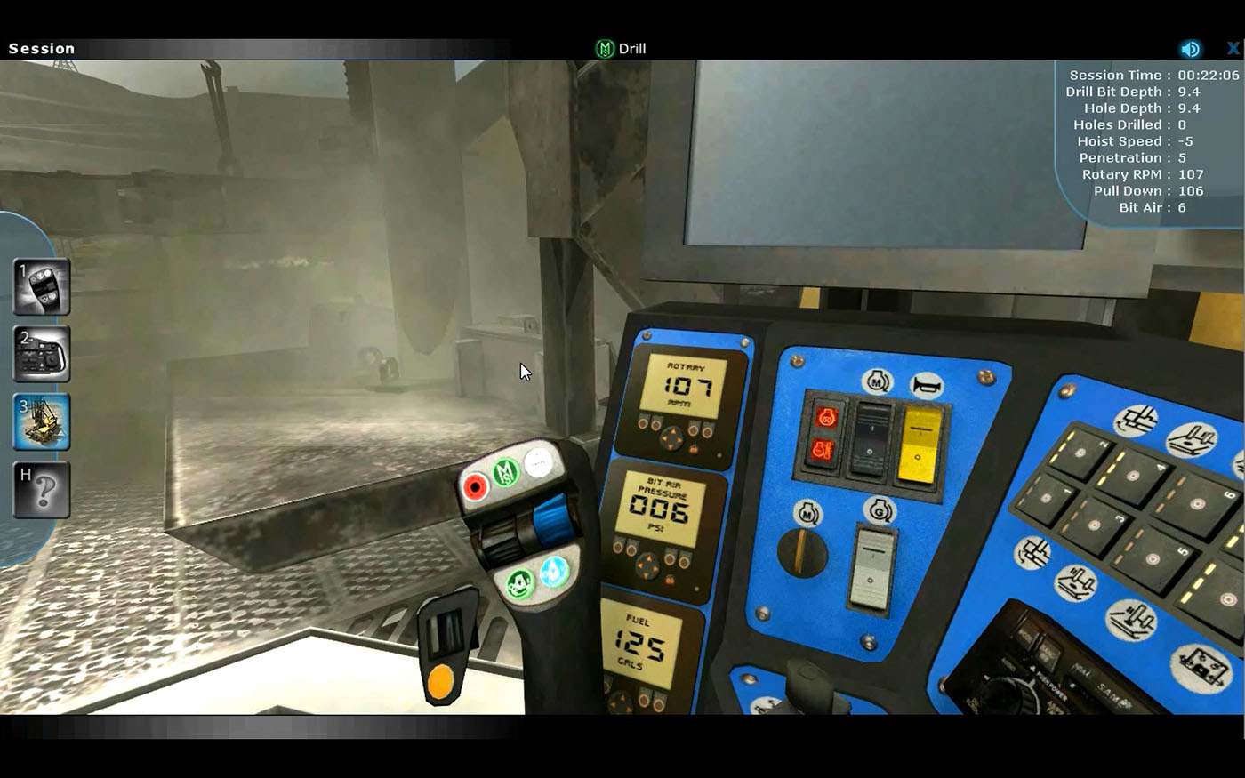 Machine Controls Familiarization Training Simulator by ForgeFX Simulations