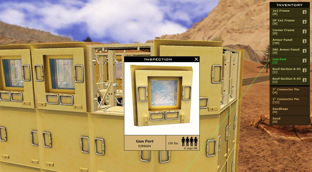 Military Equipment Training Simulator