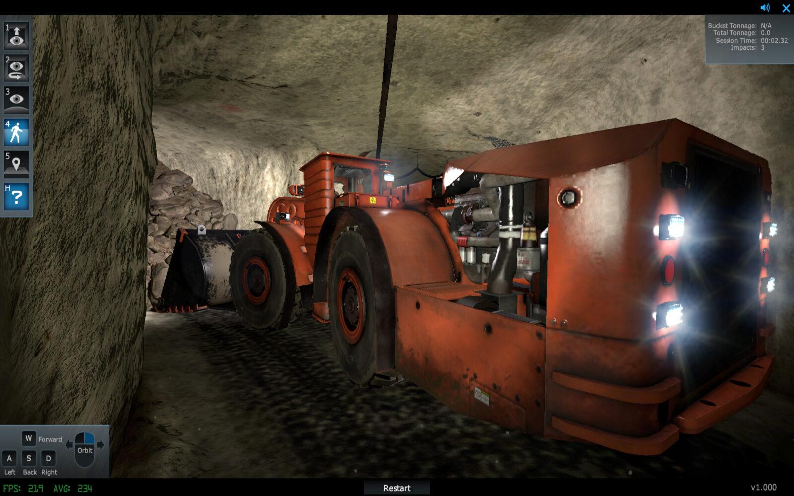 Komatsu Mining Equipment Training Simualtor
