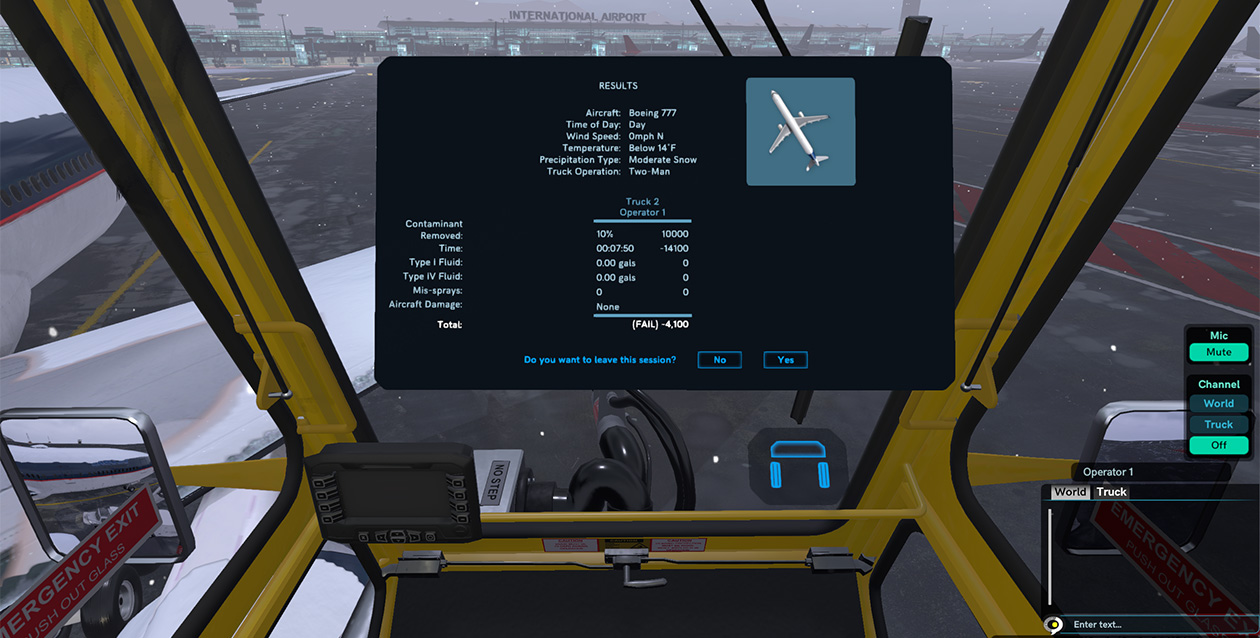 Operator Training Simulator Performance Analysis