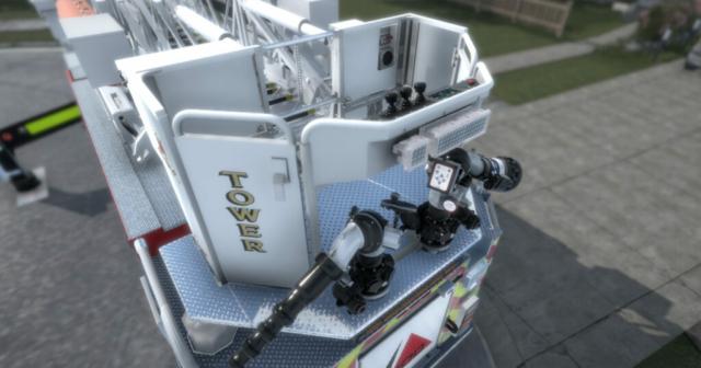 Pierce Ascendant Aerial Tower Monitor Simulator