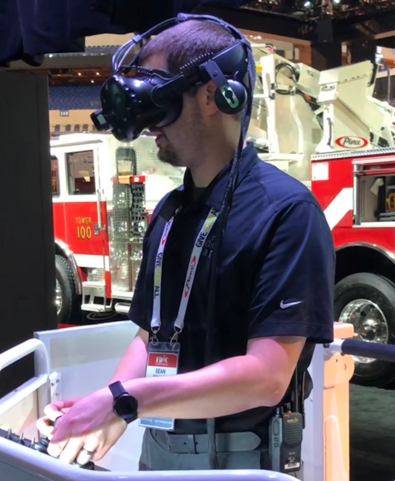Pierce Ascendant Aerial Tower Virtual Reality Simulator
