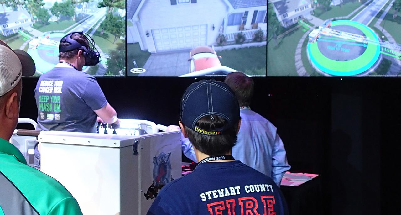 Pierce Fire Truck Simulator FDIC 2018