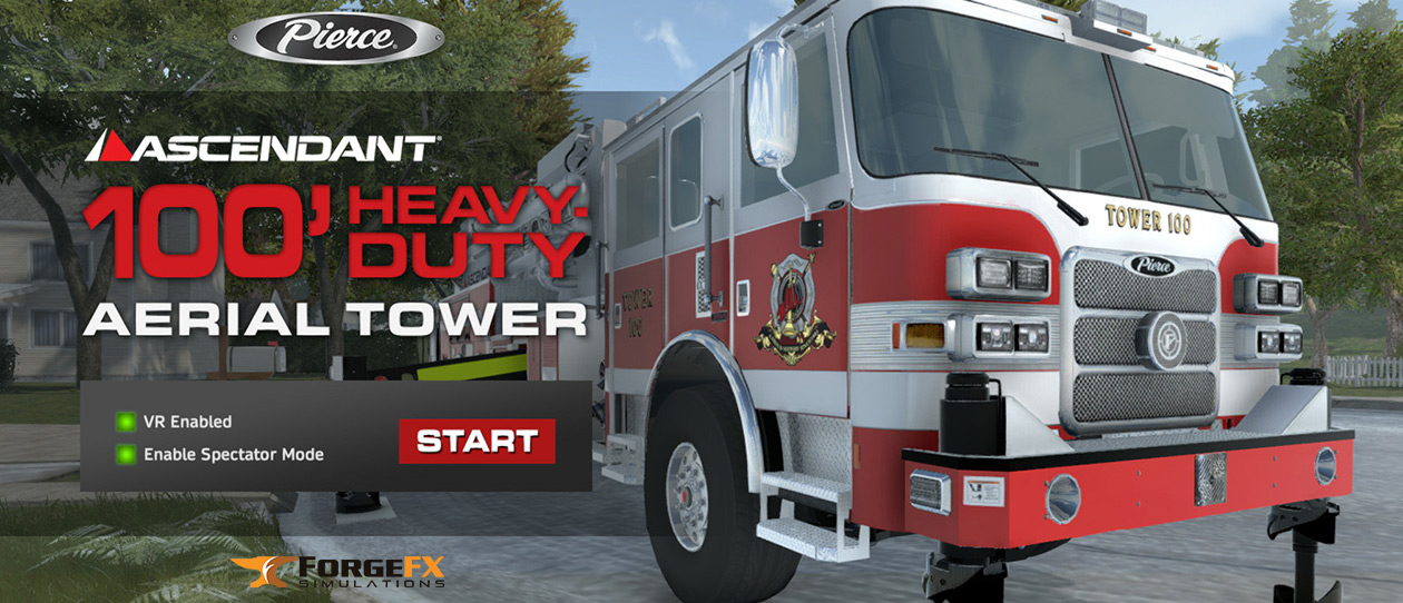 Pierce Fire Truck Simulator by ForgeFX Simulations