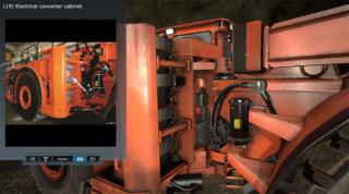 Pre-Inspectoin Virtual Training Simulator for Komatsu by ForgeFX Simulations