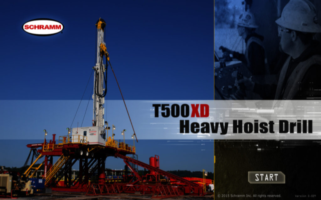 Schramm Hoist Drill Training Simulator